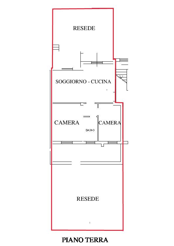 Planimetria 1/2 per rif. A405