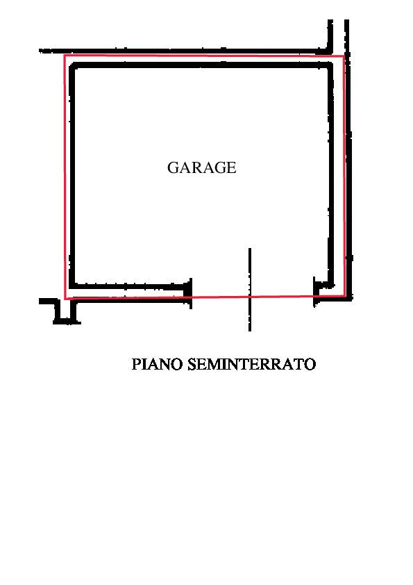 Planimetria 2/2 per rif. A405