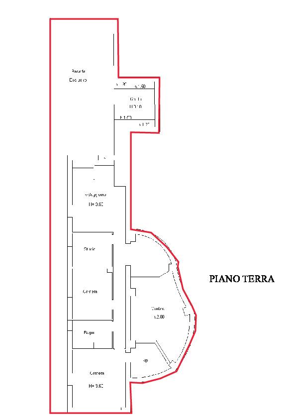 Planimetria 1/1 per rif. A616