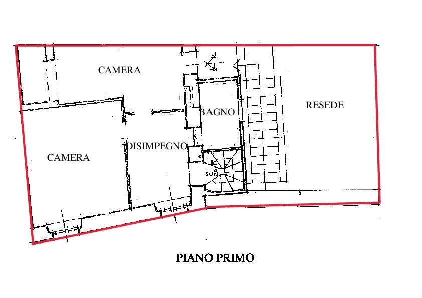 Planimetria 2/2 per rif. RD120