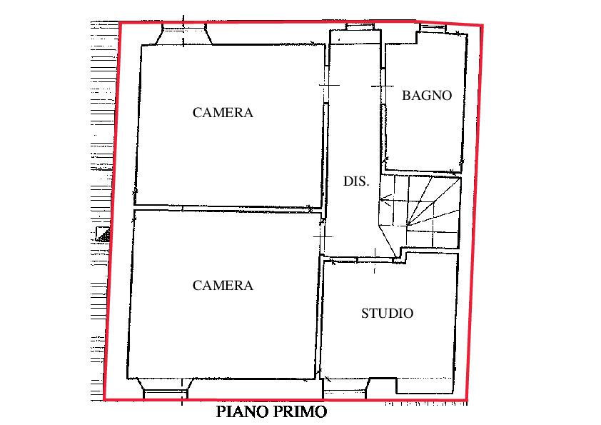 Planimetria 2/2 per rif. RD135