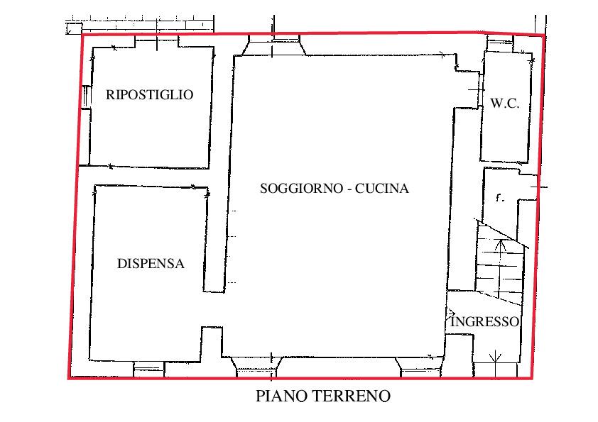 Planimetria 1/2 per rif. RD135