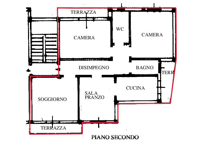 Planimetria 1/2 per rif. RD145