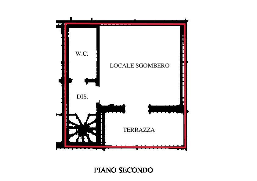 Planimetria 2/3 per rif. RD150