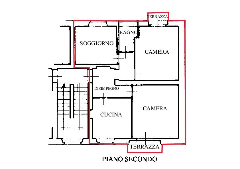 Planimetria 1/2 per rif. RD 160