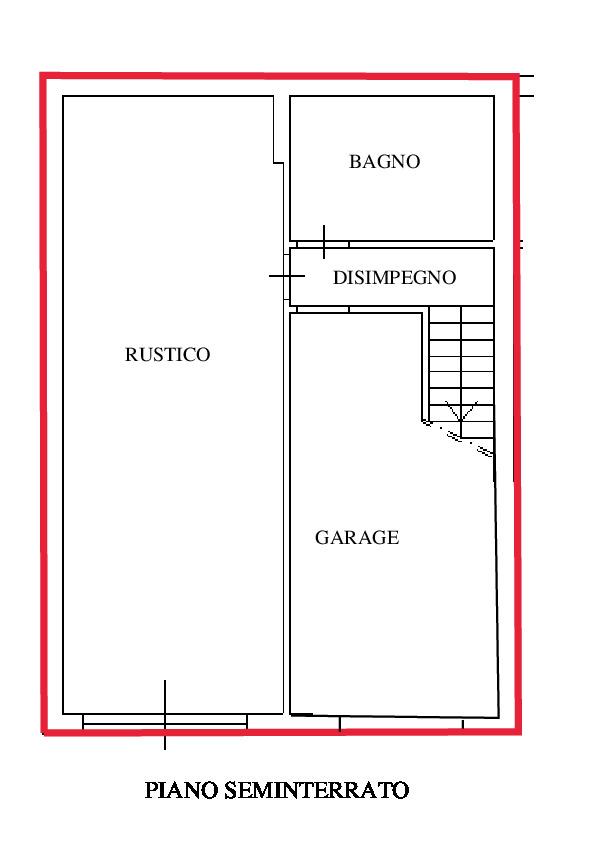 Planimetria 3/4 per rif. RD170