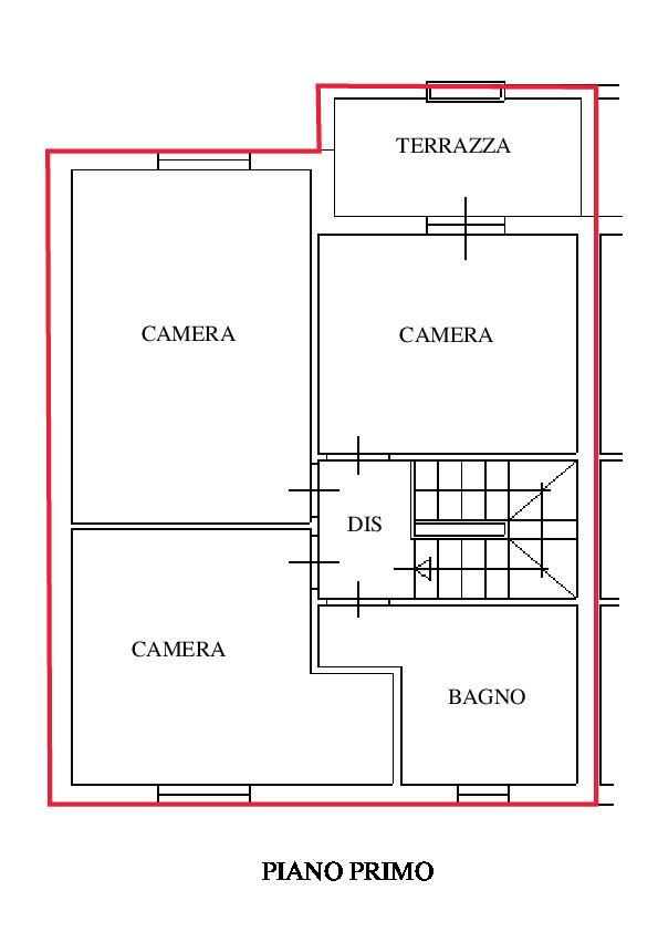 Planimetria 2/4 per rif. RD170
