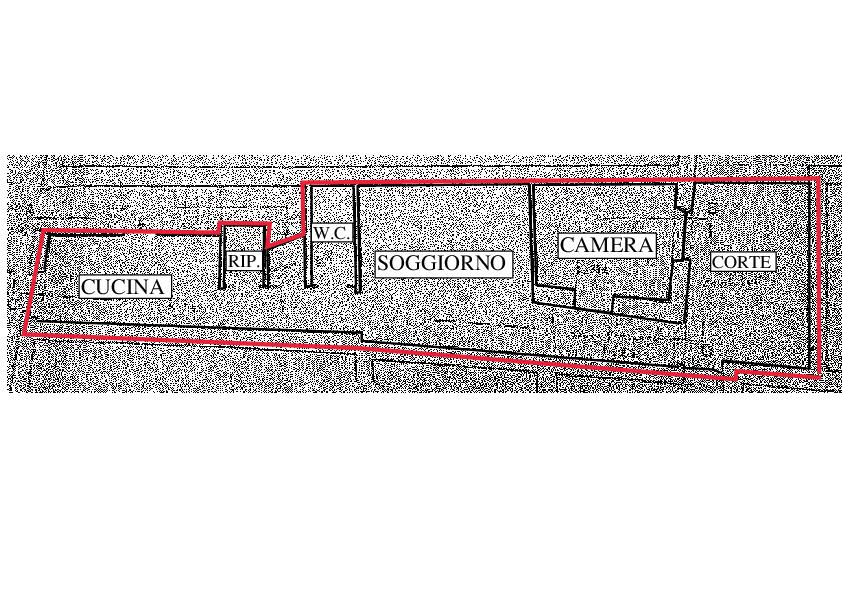 Planimetria 1/1 per rif. RD230