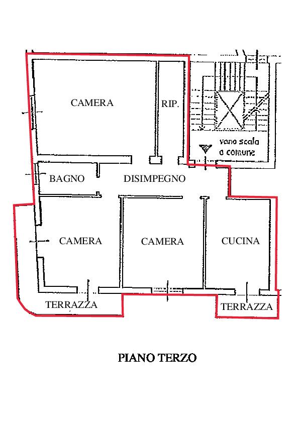 Planimetria 1/1 per rif. RD240