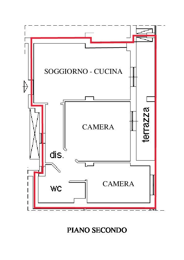 Planimetria 1/1 per rif. RD250