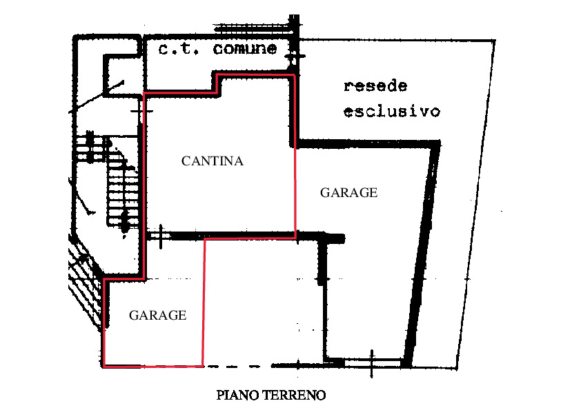 Planimetria 2/2 per rif. RD300