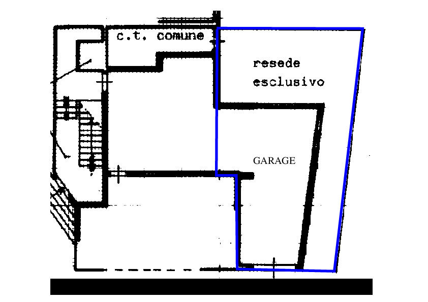 Planimetria 2/2 per rif. RD400