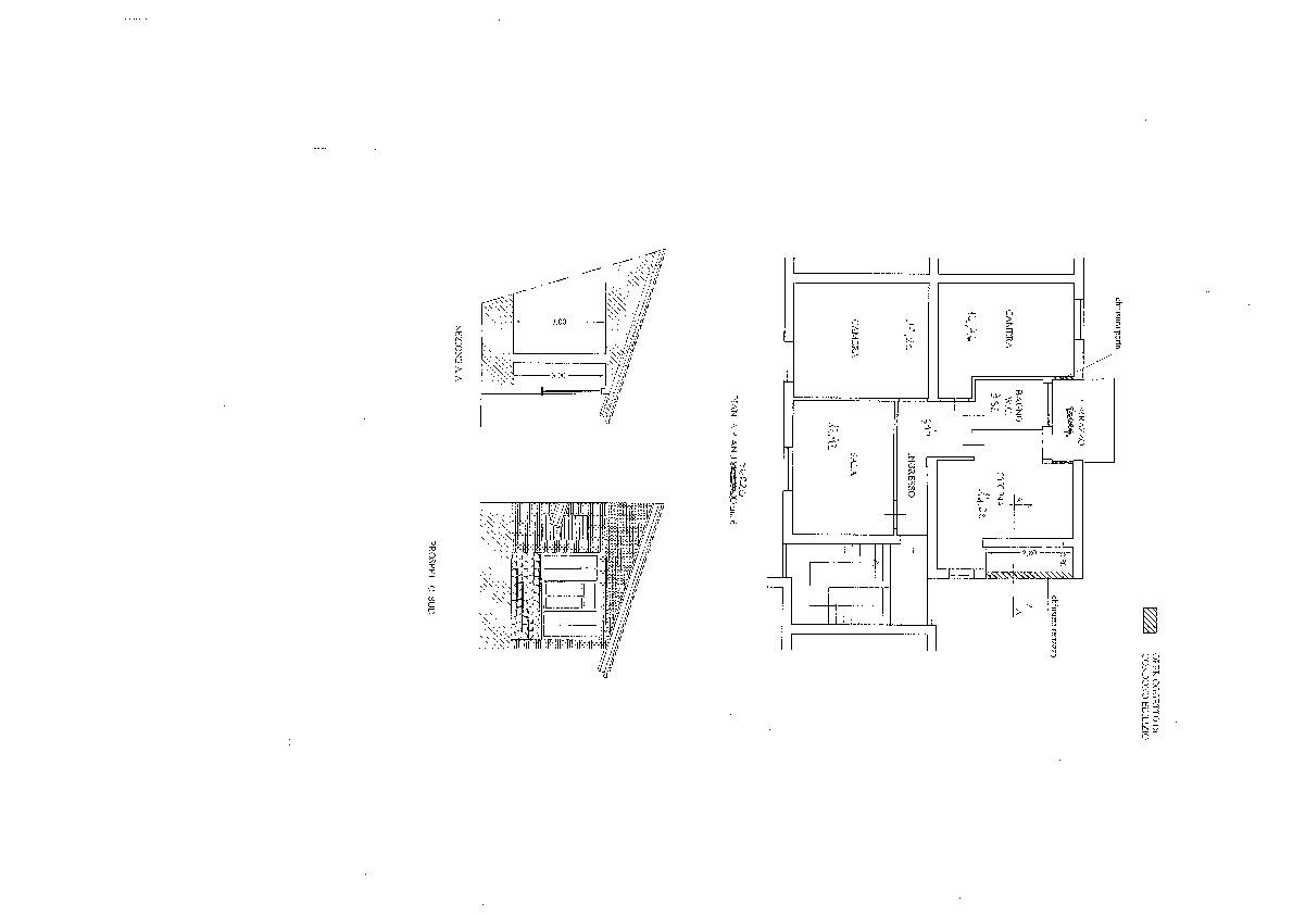 Planimetria 1/1 per rif. ap capa 85l