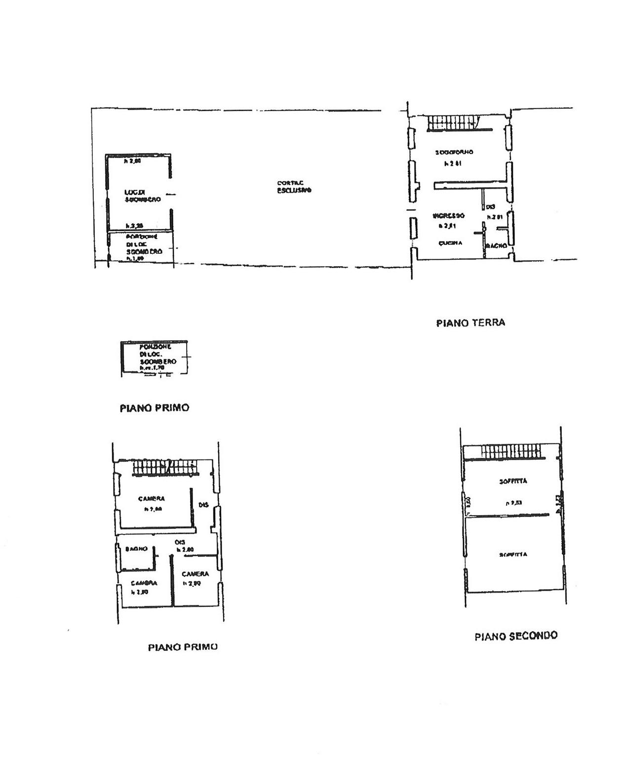 Planimetria 1/1 per rif. TRC MARG 169