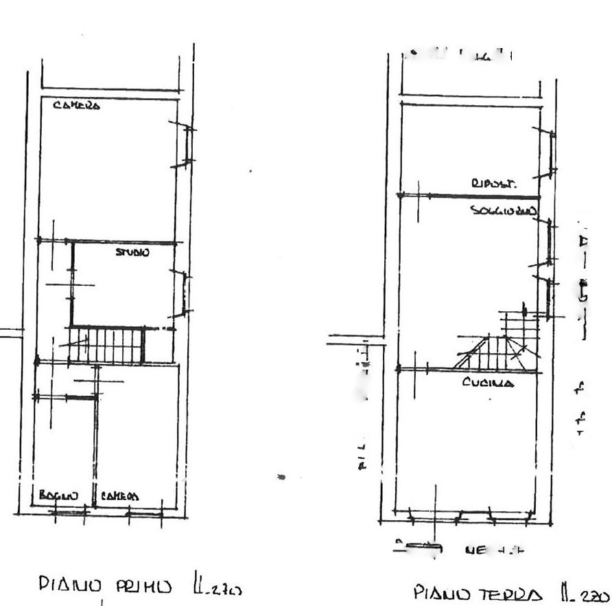 Planimetria 2/2 per rif. TRF SEGR 130