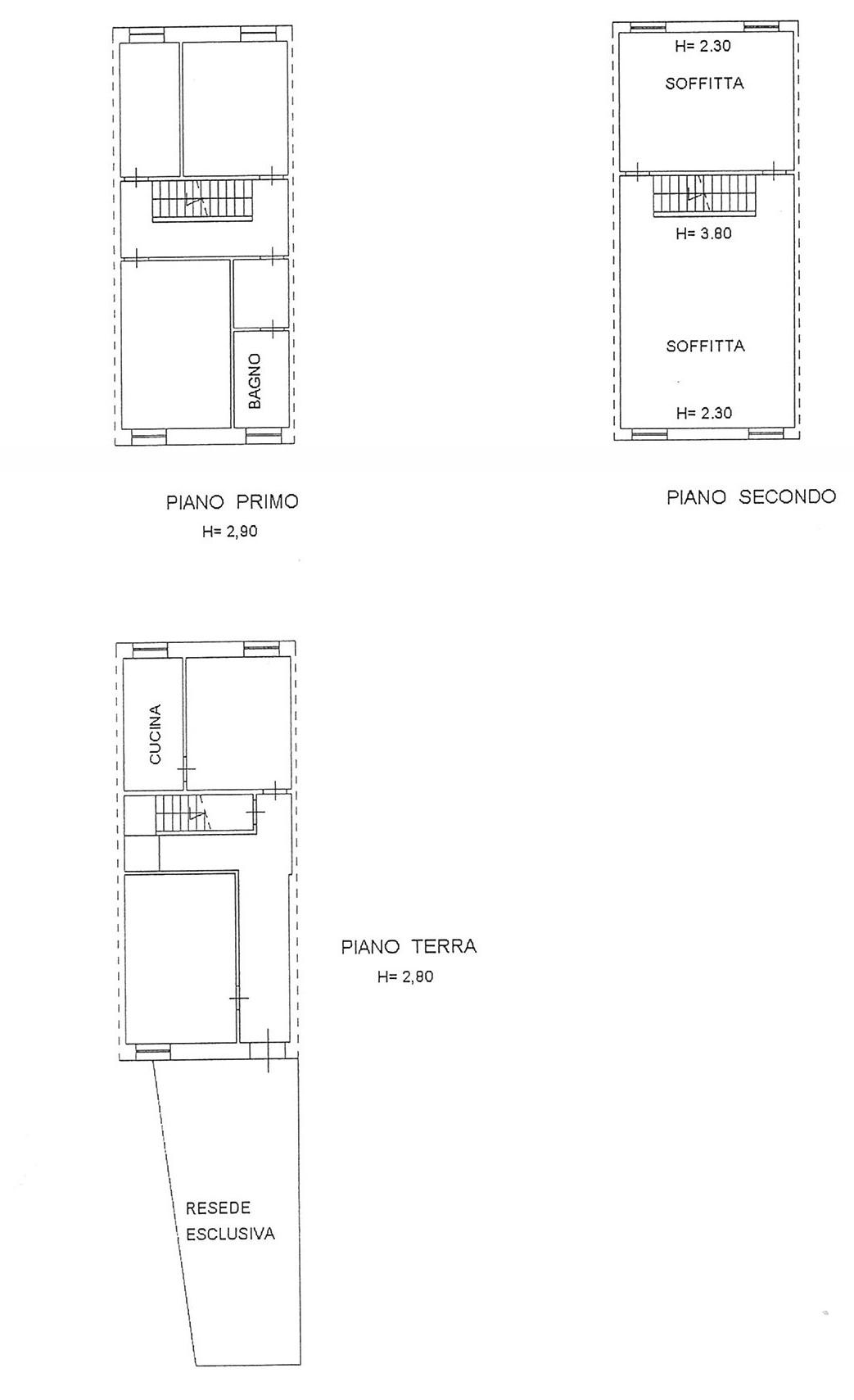 Planimetria 1/1 per rif. TRC LUN 130