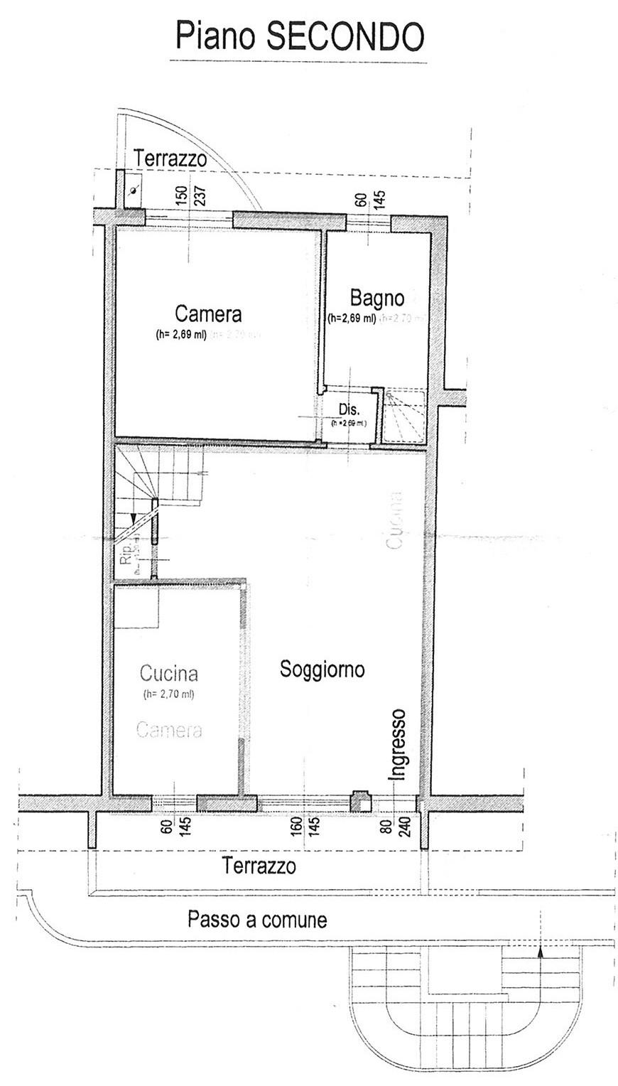 Planimetria 1/3 per rif. AP ALTO 75