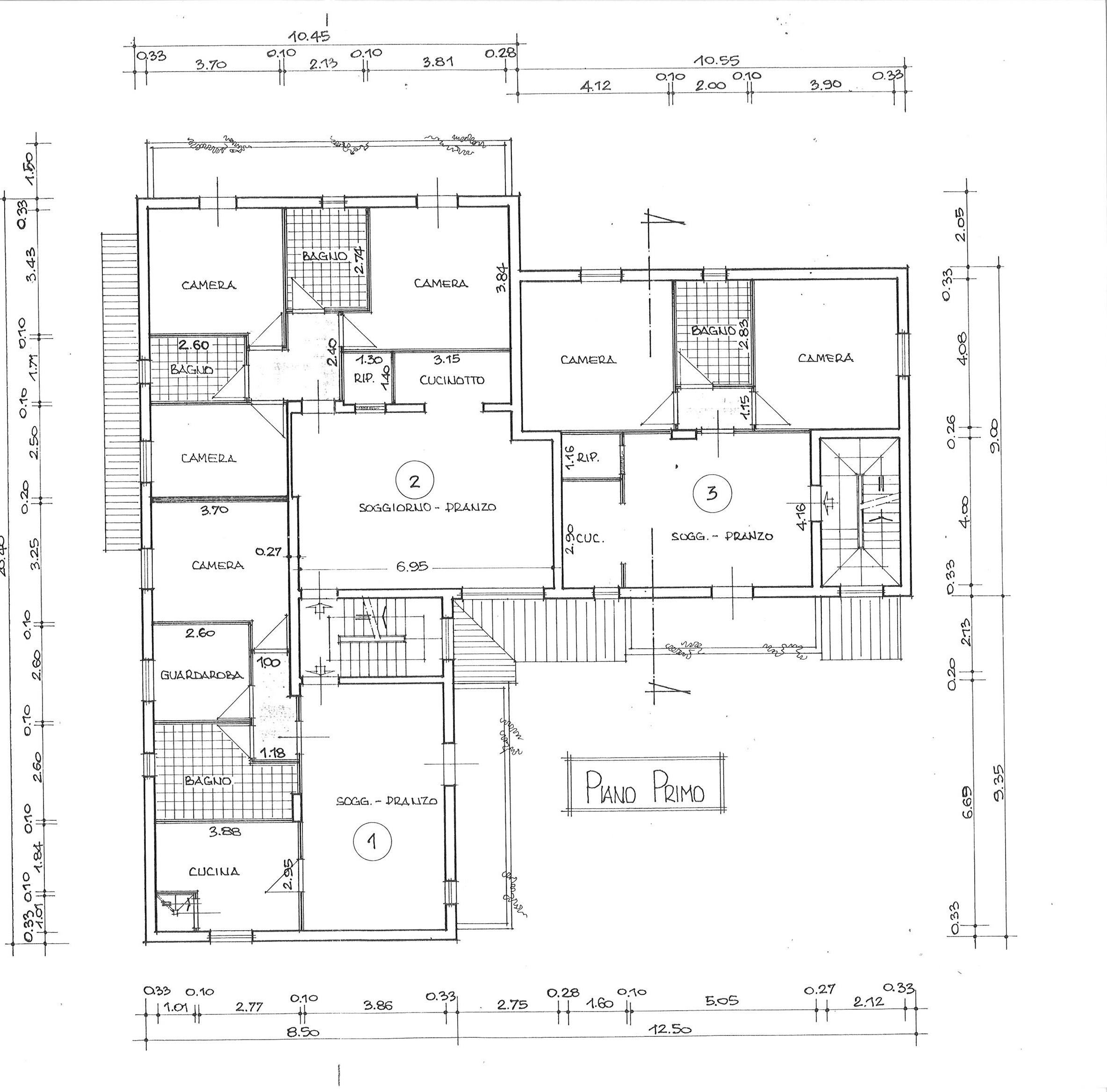 Planimetria 1/1 per rif. AP BAD 170