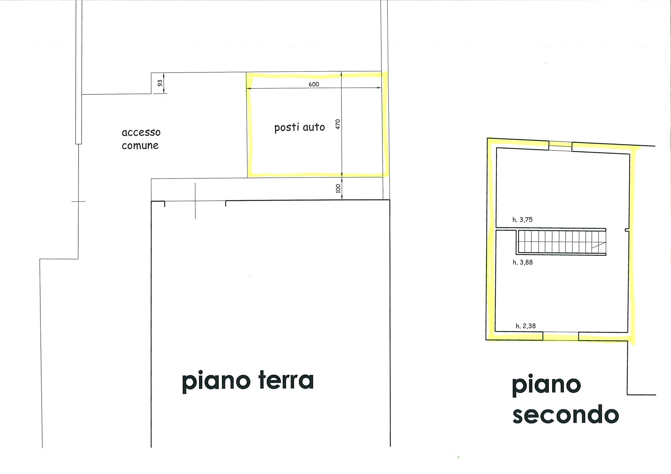 Planimetria 2/2 per rif. TRF CAP 85