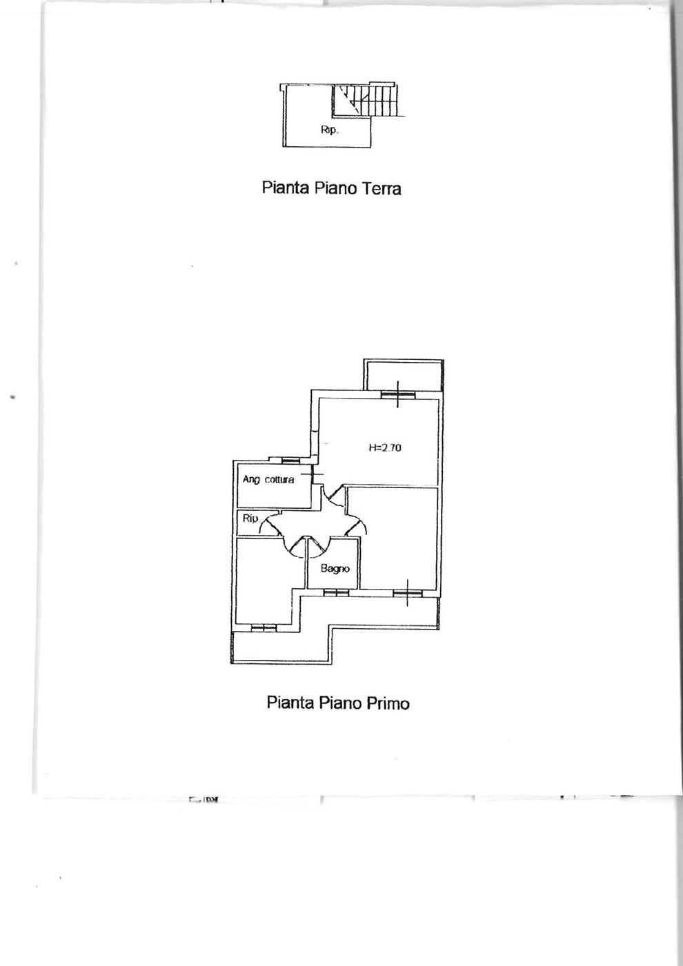Planimetria 1/1 per rif. APP PICC 148