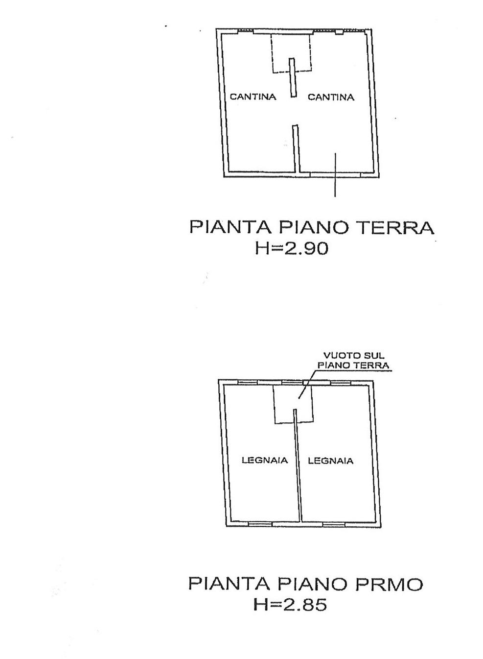 Planimetria 1/1 per rif. CAPF POR 170