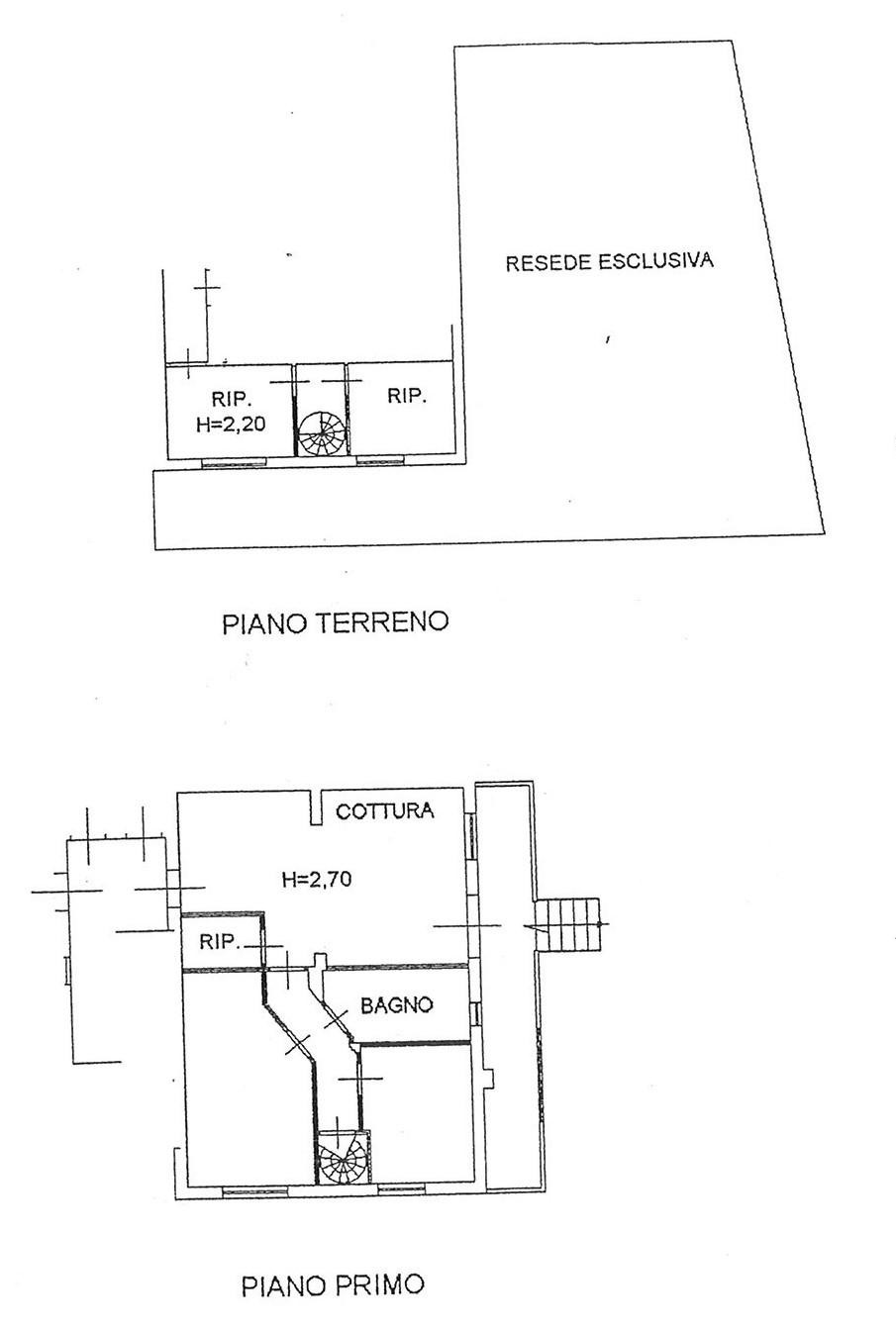 Planimetria 1/1 per rif. AP BADIA 147