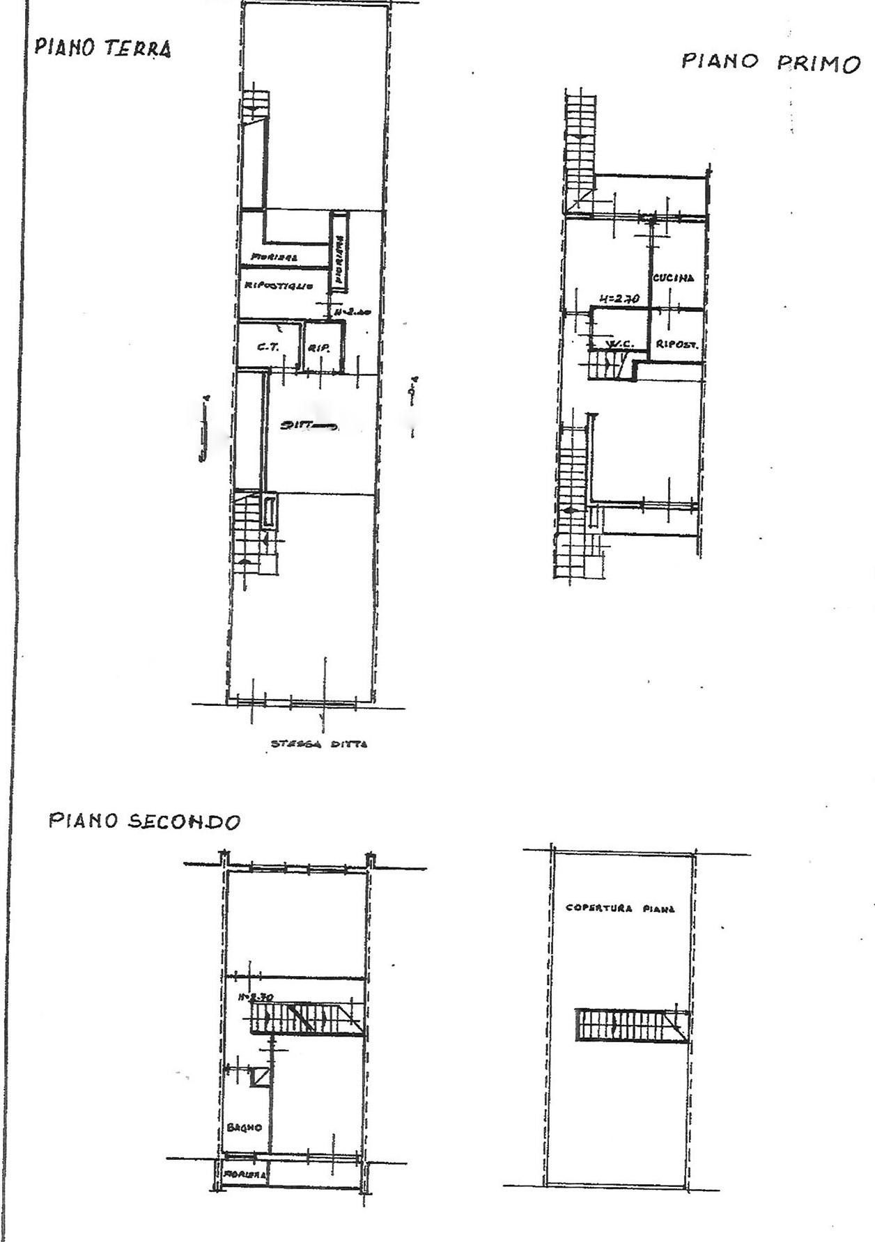 Planimetria 1/1 per rif. VSC CAPA 200