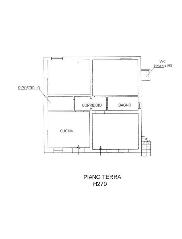 Planimetria 1/2 per rif. CIND POR 185
