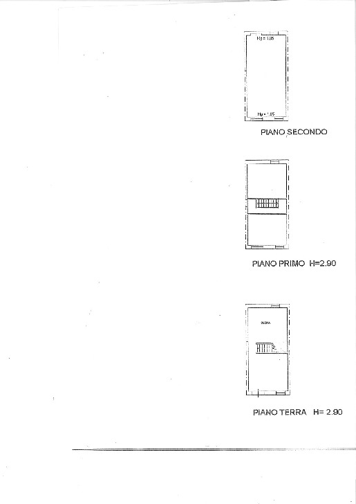 Planimetria 1/1 per rif. TRC SGIN 60