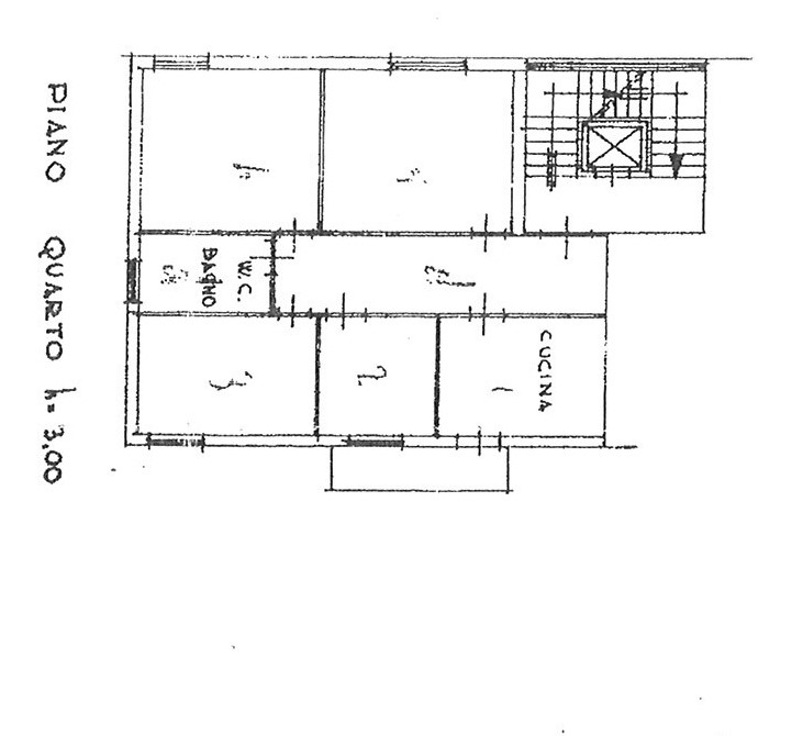 Planimetria 1/1 per rif. AP CAPA 110