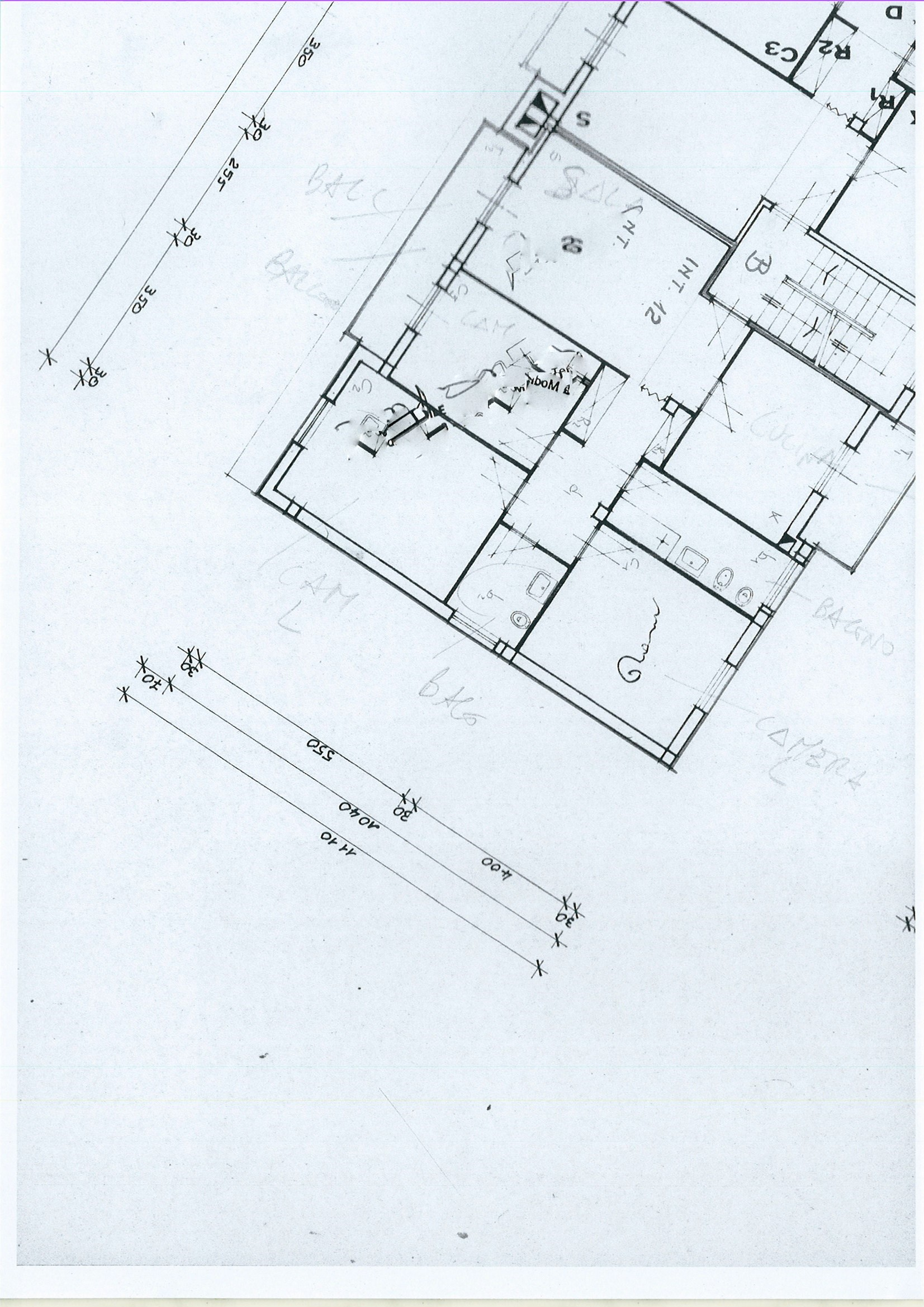 Planimetria 1/1 per rif. ap capa 105