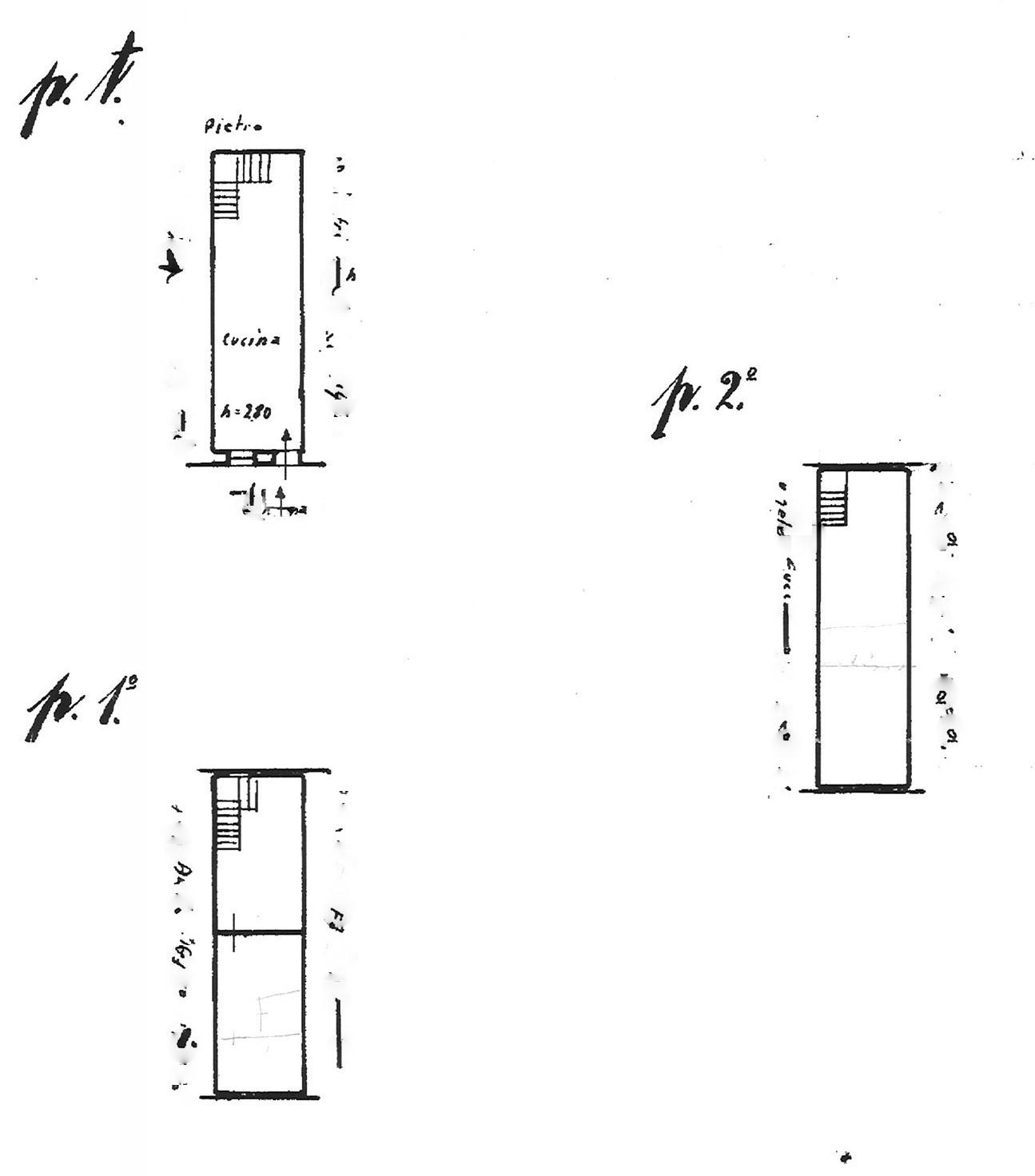 Planimetria 1/1 per rif. trc por 90r
