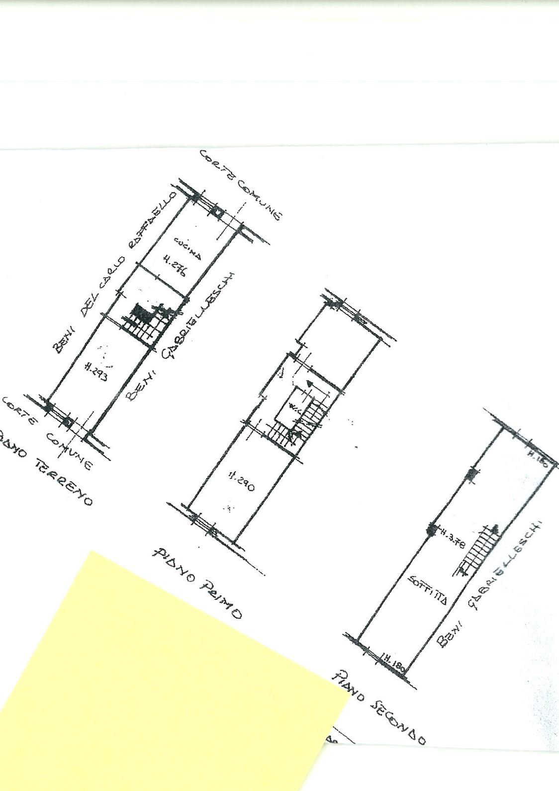 Planimetria 1/1 per rif. trc por 78