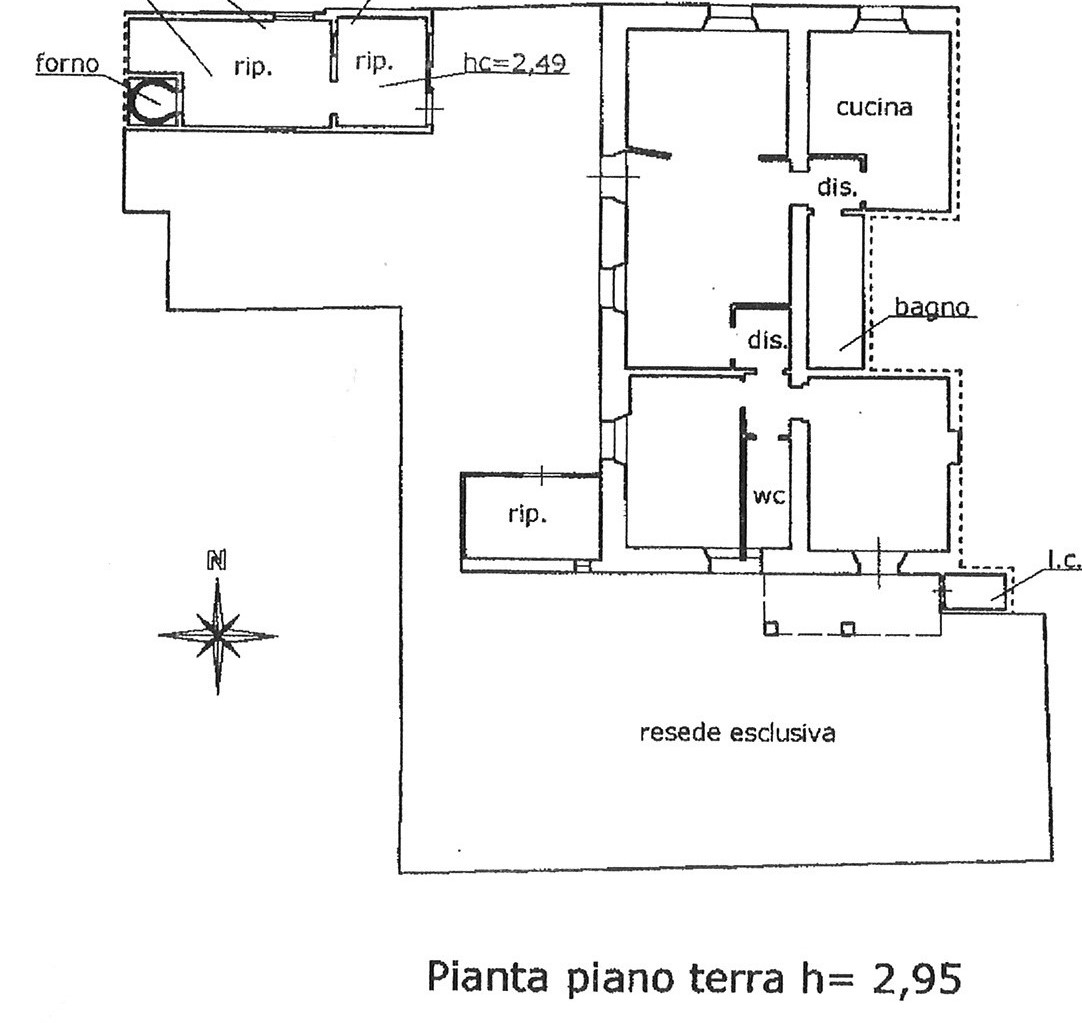Planimetria 1/1 per rif. ap salt 150