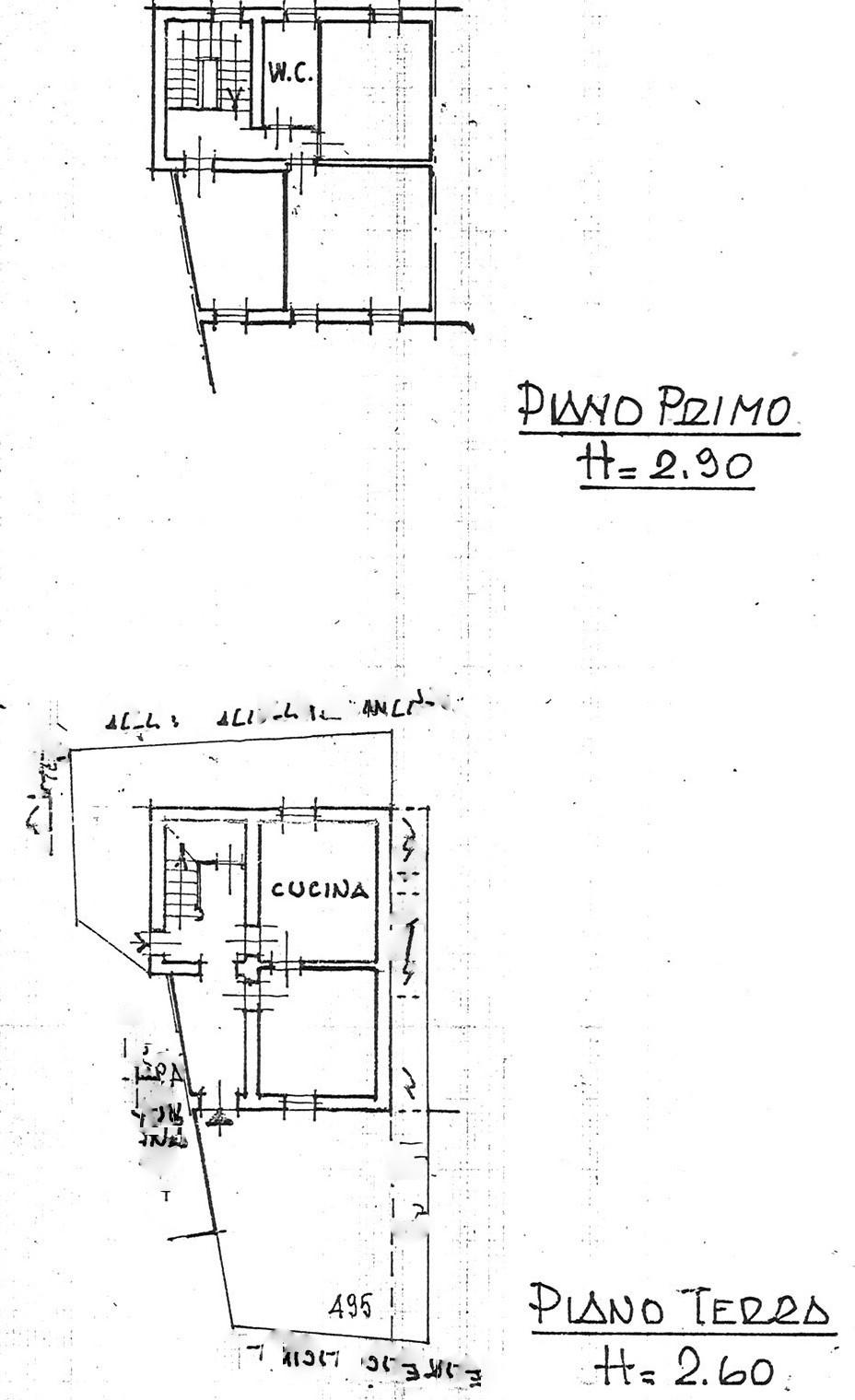 Planimetria 1/1 per rif. trc cami 128
