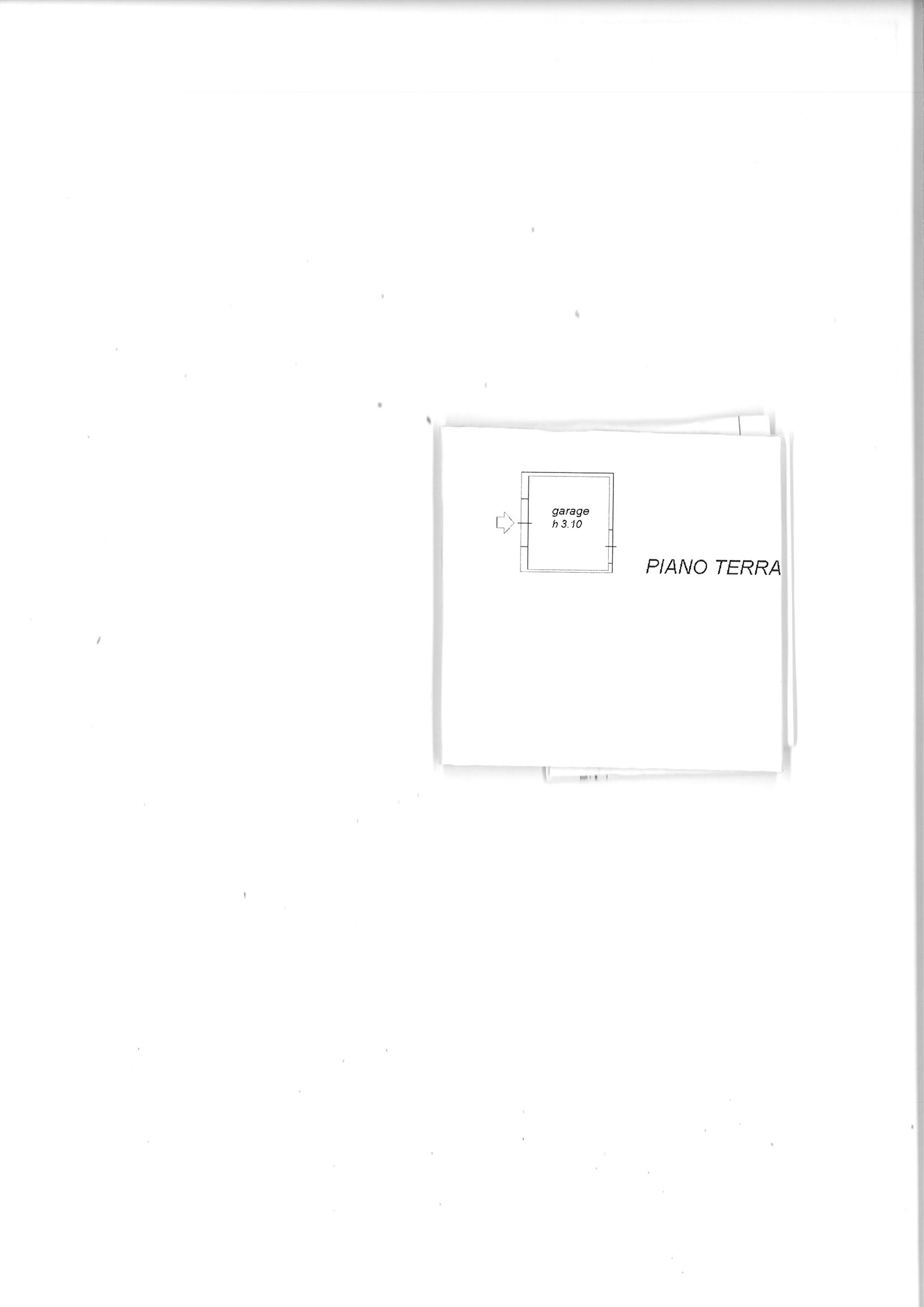 Planimetria 2/2 per rif. capan gragn 155