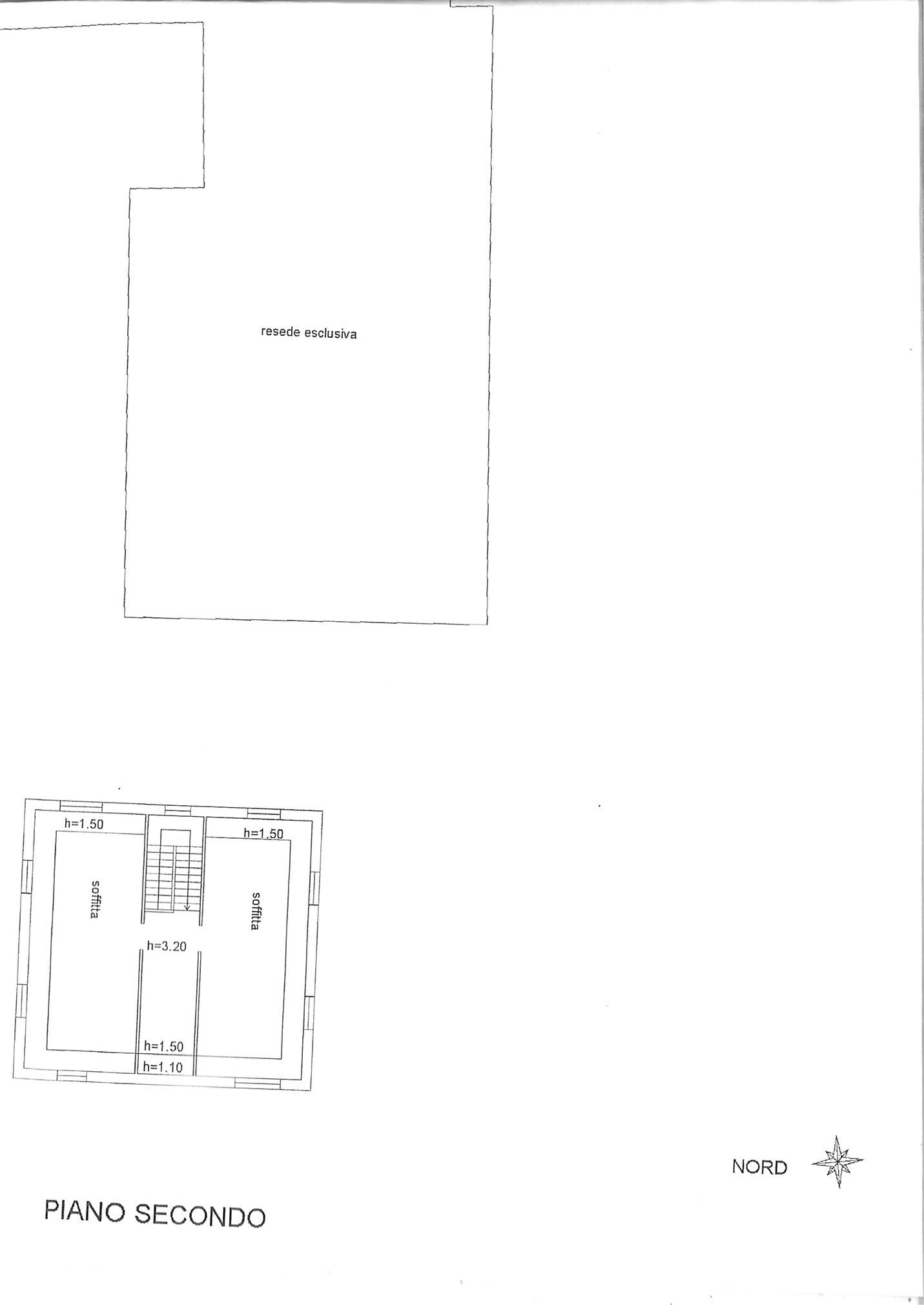 Planimetria 2/2 per rif. ap spvic 150