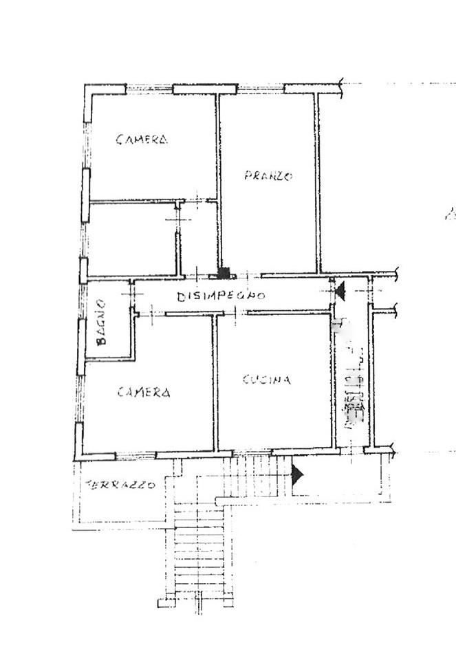 Planimetria 1/1 per rif. ap lun 65