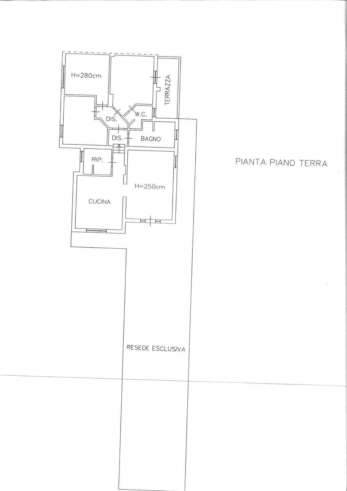 Planimetria 1/1 per rif. ap smarg 225