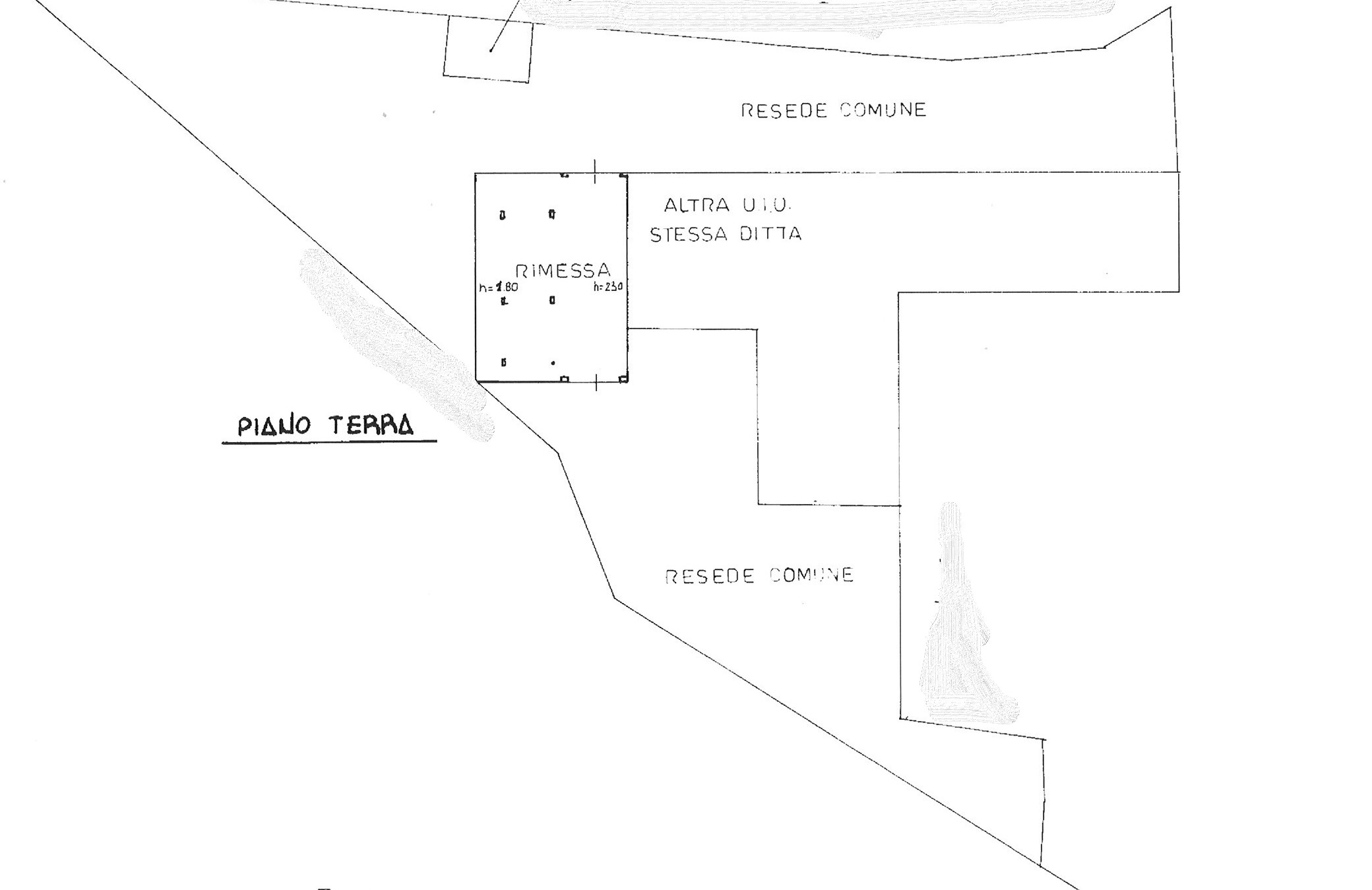 Planimetria 2/2 per rif. semi tor 265