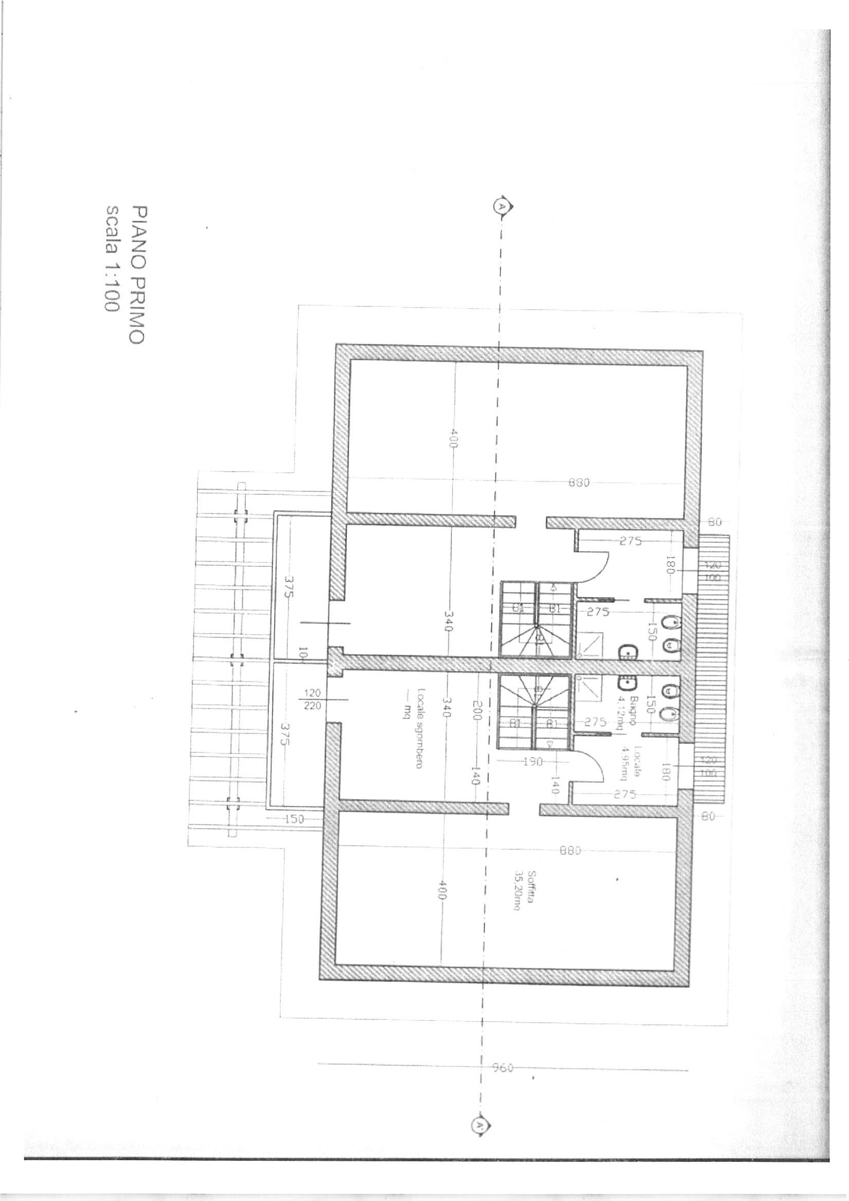 Planimetria 4/5 per rif. vbf lamm 160