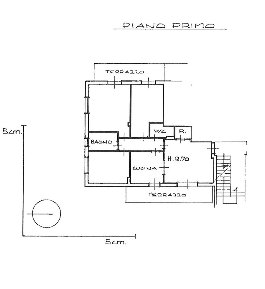 Planimetria 2/2 per rif. app psp 175