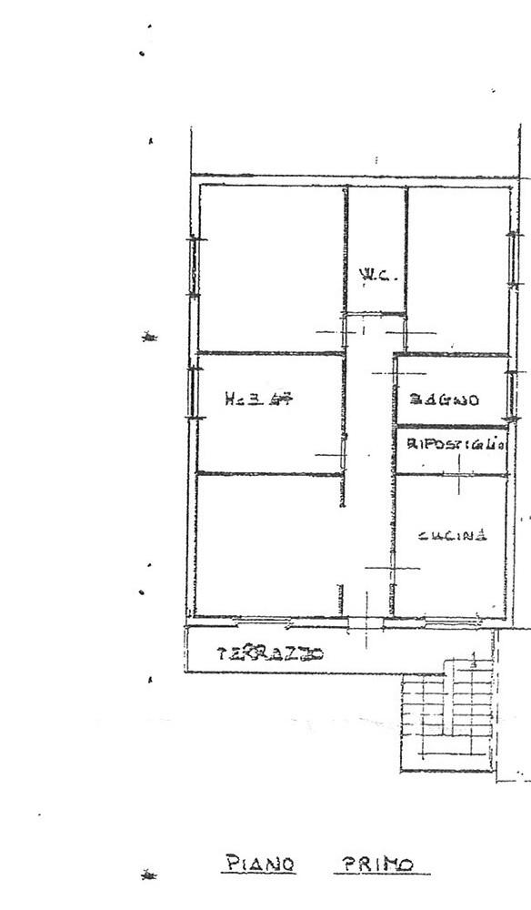 Planimetria 1/1 per rif. ap por 135d