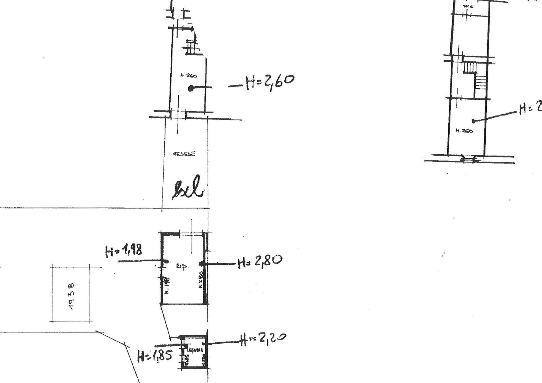 Planimetria 1/1 per rif. trc marlia 69