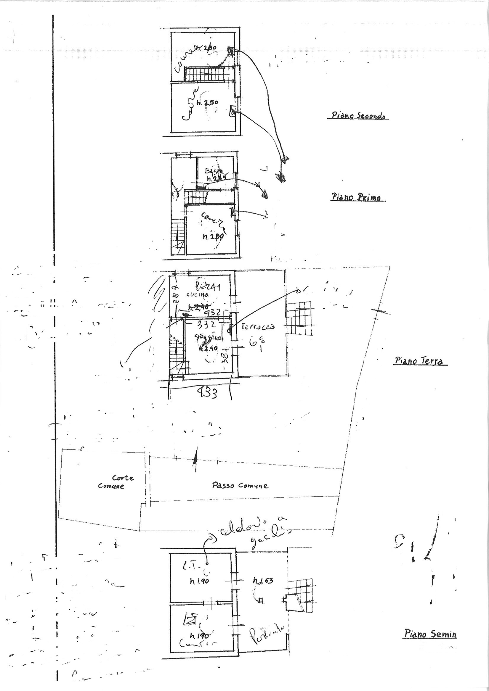 Planimetria 1/1 per rif. trf qui 125