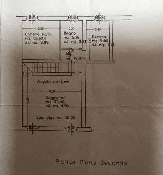 Planimetria 1/1 per rif. ap lamm 165