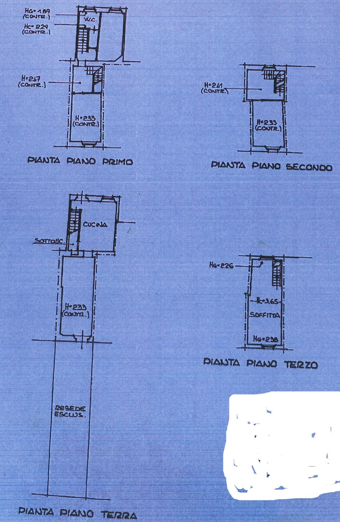 Planimetria 1/1 per rif. trc marlia 55