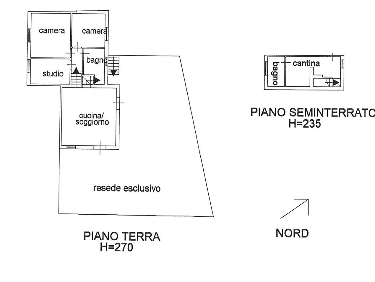 Planimetria 1/3 per rif. vsf vcamp 169