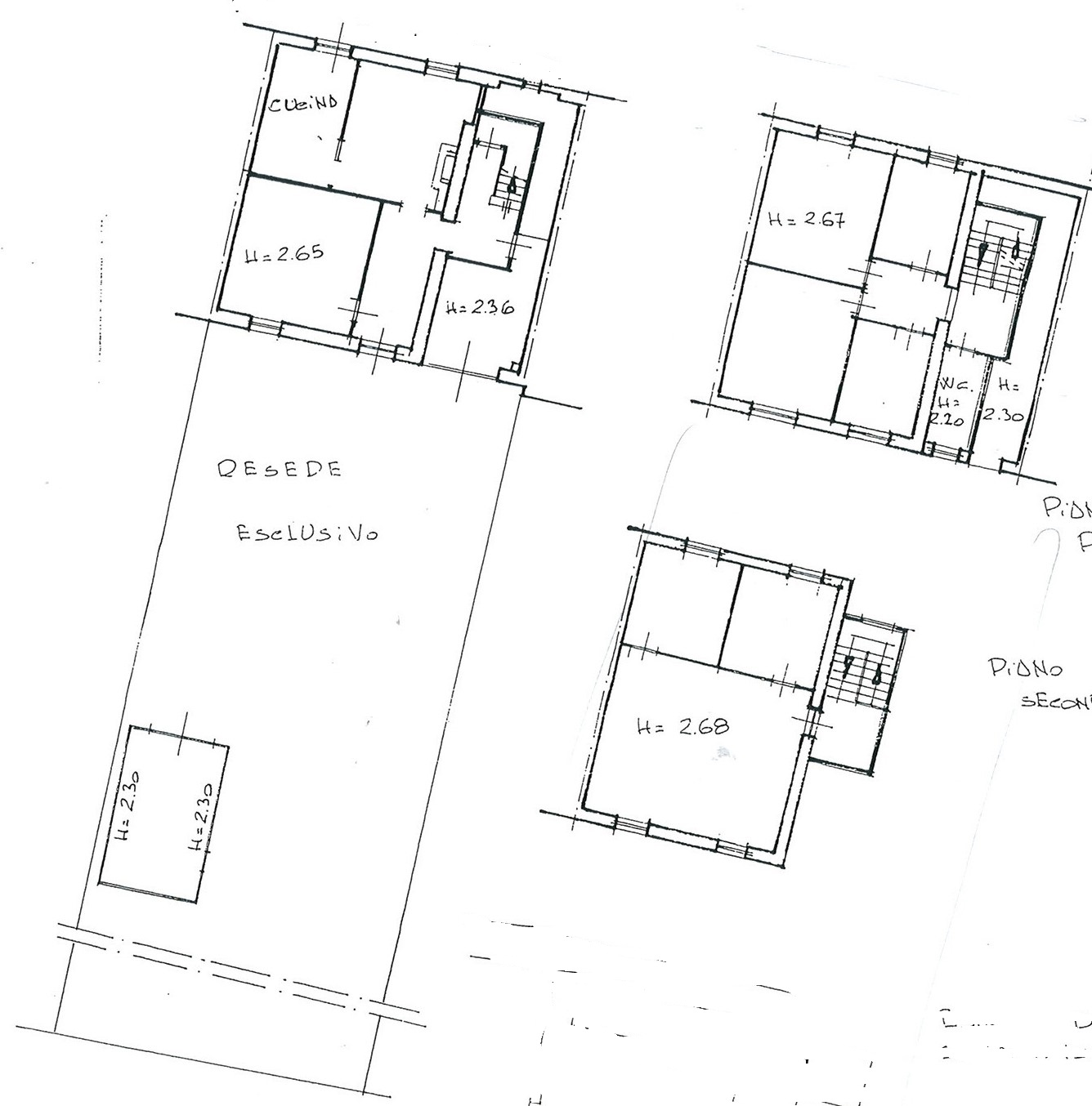 Planimetria 1/1 per rif. trc ssann 160