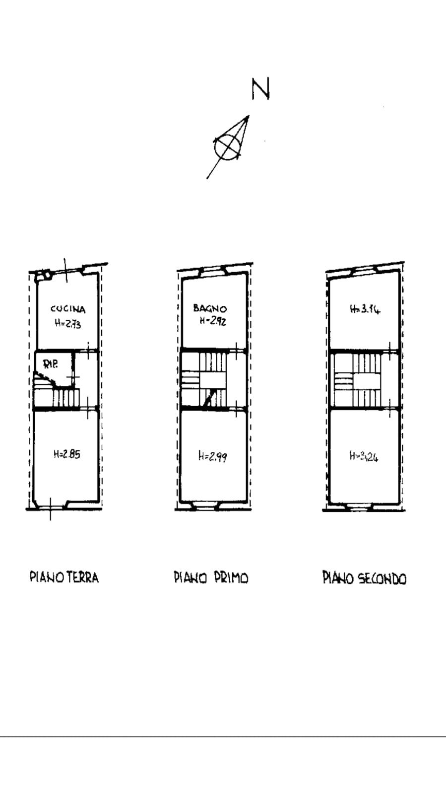 Planimetria 3/3 per rif. trc sdona 179
